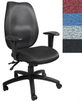 Contoured Ergonomic Office Chair